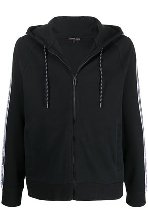 Michael Kors Hombre Con capucha - Hoodie con cierre y logo estampado