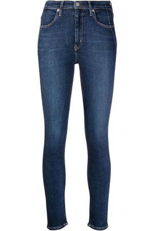 Calvin Klein Skinny jeans con tiro alto