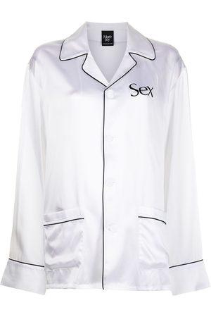 Christopher Kane Pyjama-style printed suit