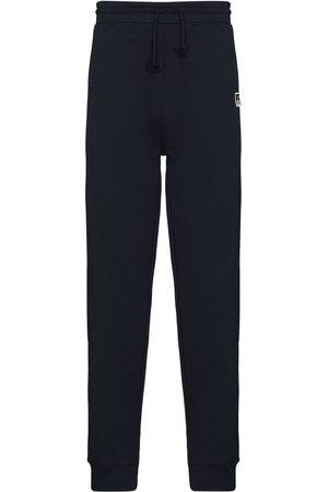 HUGO BOSS Hombre Pantalones y Leggings - Pantalones de chándal con parche del logo