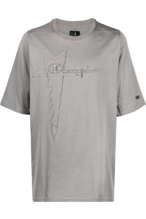 Rick Owens Playera con logo bordado