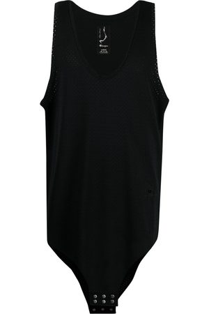 Rick Owens Hombre Playeras - Camiseta de malla