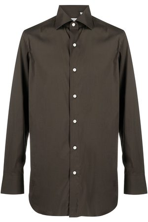 Finamore Hombre Camisas - Camisa con cuello