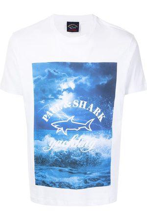 Paul & Shark Playera con estampado gráfico
