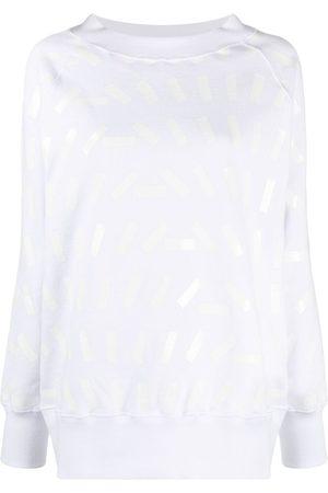 Maison Margiela Tape print sweatshirt