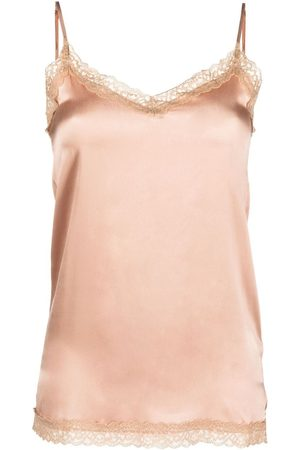 MAX & MOI Mujer Tops - Lace-trim camisole top