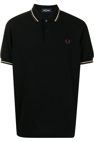 Fred Perry Stripe-trim polo shirt