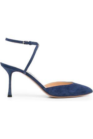 Francesco Russo Mujer De tacón - Zapatos con puntera en punta con tacón de 75mm
