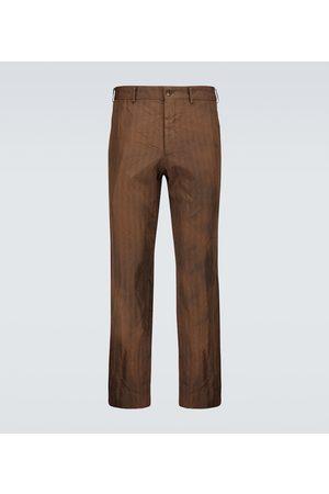 COMME DES GARÇONS HOMME DEUX Tailored striped pants