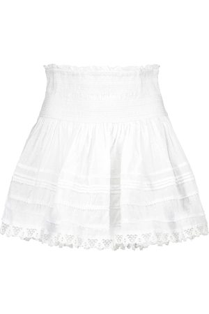 POUPETTE ST BARTH Exclusive to Mytheresa – Galia cotton miniskirt