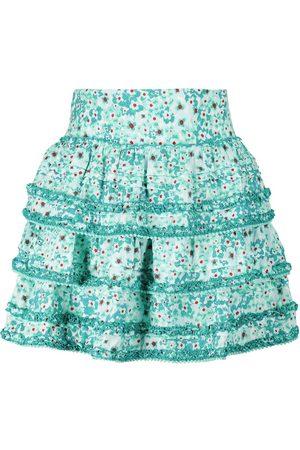 POUPETTE ST BARTH Mujer Estampadas - Exclusive to Mytheresa – Bibi floral high-rise miniskirt