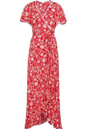 POUPETTE ST BARTH Mujer Midi - Exclusive to Mytheresa – Joe floral wrap dress