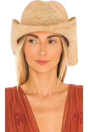 florabella Mujer Sombreros - Sombrero tanya en color bronce talla all en - Tan. Talla all.