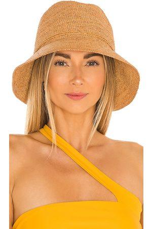 florabella Mujer Sombreros - Sombrero dylan en color bronce talla all en - Tan. Talla all.