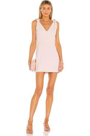 Amanda Uprichard Mujer Cortos - Minivestido allora en color talla L en - Blush. Talla L (también en XS, S, M).