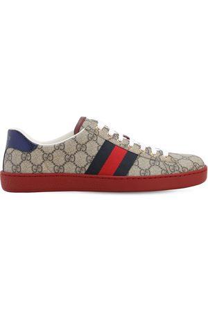"""Gucci Sneakers """"ace Gg Supreme"""" De Tela 25mm"""