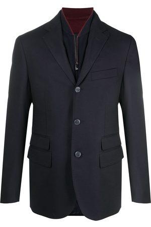 Corneliani Hombre Sacos - Blazer a capas con botones
