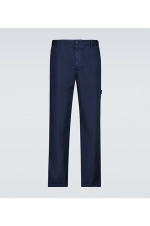 Moncler Genius Hombre Chinos - 5 MONCLER CRAIG GREEN cotton chino pants