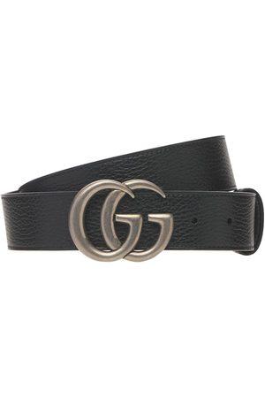 """Gucci Hombre Cinturones - Cinturón """"gg Marmont"""" Reversible 4cm"""