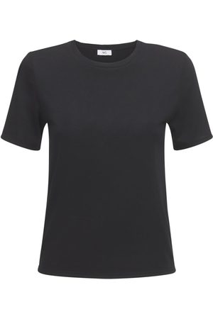 AG Camiseta De Mezcla De Algodón