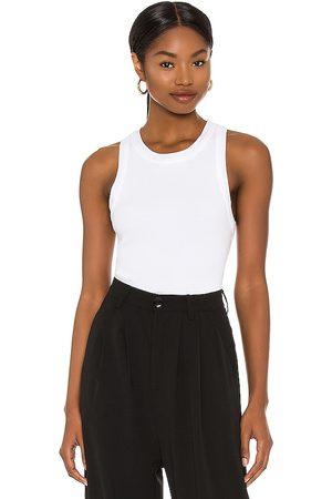 Citizens of Humanity Mujer Playeras - Camiseta tirantes isabel en color talla L en - White. Talla L (también en XS, S, M).