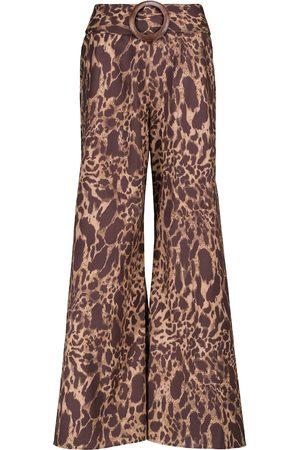 ALEXANDRA MIRO Exclusive to Mytheresa – Claudia leopard-print cotton pants