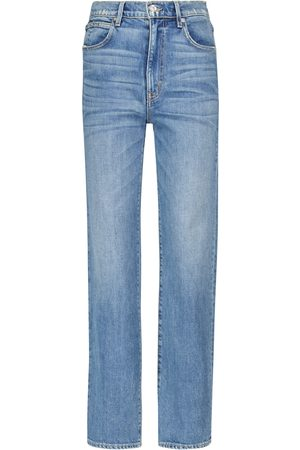 SLVRLAKE Mujer Rectos - London high-rise straight jeans