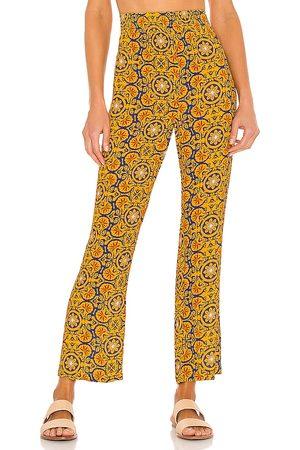WeWoreWhat Mujer De vestir - Pantalón en color amarillo mostaza talla L en - Mustard. Talla L (también en S, XS, M).