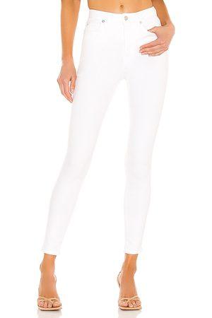 Free People Mujer Montana skinny en color blanco talla 24 en - White. Talla 24 (también en 31, 26, 27, 28, 29, 30).