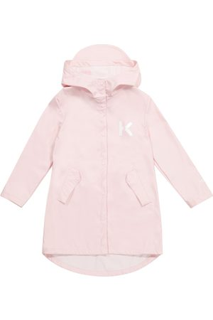 Kenzo Niña Abrigos - Technical raincoat
