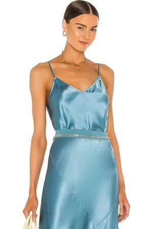 ATM Anthony Thomas Melillo Mujer Tops - Silk cami en color azul talla L en - Blue. Talla L (también en XS, S, M).