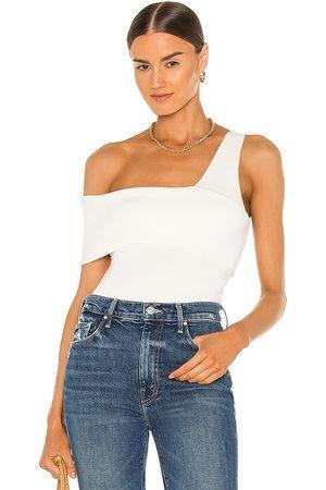 LINE & DOT Mujer Tops - Sylvie sleeveless top en color talla L en - White. Talla L (también en XS, S, M).