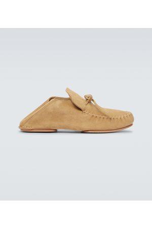 Loewe Hombre Mocasines - Paula's Ibiza suede loafers