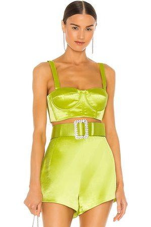 Bronx and Banco Mujer Tops - Capri bralette top en color verde talla L en - Green. Talla L (también en XS, S, M).