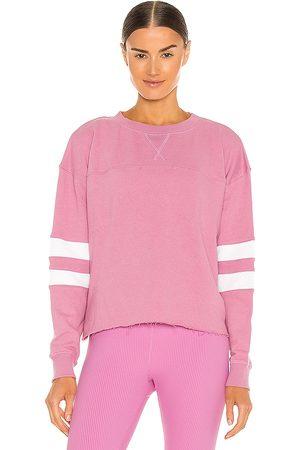 YEAR OF OURS Mujer Sudaderas - Sudadera varsity en color rosado talla L en - Pink. Talla L (también en S, XS, M).