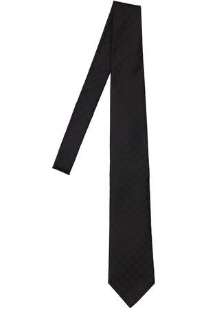 "Gucci Hombre Corbatas - Corbata ""gg"" De Seda 8cm"