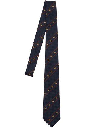 Gucci Hombre Corbatas - Corbata De Seda Con Tribanda 7cm