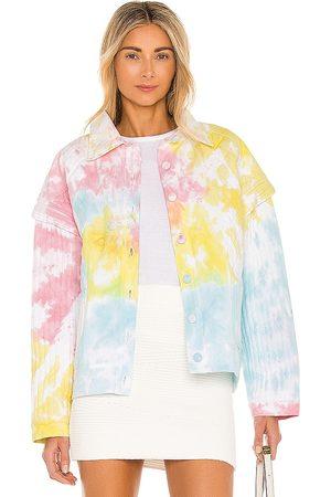 LOVESHACKFANCY Chaqueta adelade en color pink,yellow,blue talla L en - Pink,Yellow,Blue. Talla L (también en S
