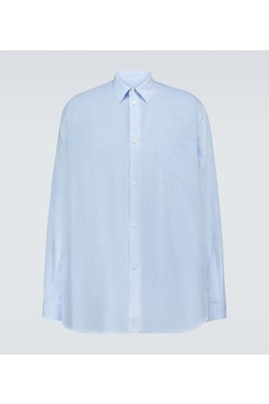 UNDERCOVER Hombre Formales - Oversized long-sleeved shirt