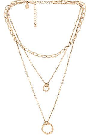 8 Other Reasons Collar en color oro metálico talla all en - Metallic Gold. Talla all.
