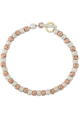 Dodo Mujer Pulseras - Pulsera en plata y oro rosa de 9kt con cuentas