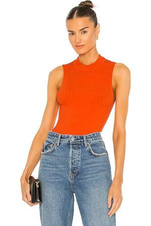 Essentiel Antwerp Camiseta tirantes zaris en color naranja talla L en - Orange. Talla L (también en XS, S, M).