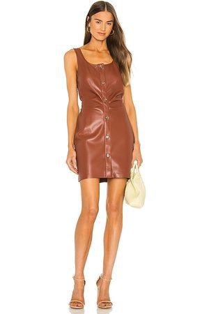 Nanushka Mujer Vestidos - Vestido ernie en color marrón talla L en - Brown. Talla L (también en XS, S, M).