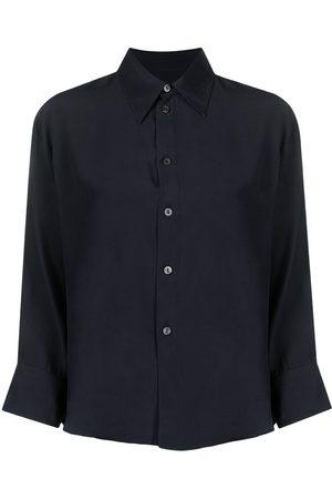 Jil Sander Mujer Camisas - Camisa de seda con botones