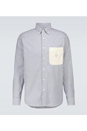 CRAIG GREEN Uniform striped long-sleeved shirt