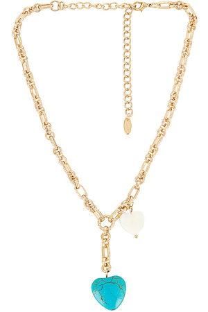 Ettika Collar lariat en color oro metálico talla all en - Metallic Gold. Talla all.