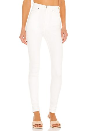 Dr Denim Moxy skinny en color blanco talla L en - White. Talla L (también en XS, S, M).
