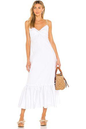 L'Academie Vestido laura en color talla L en - White. Talla L (también en XXS, XS, S, M, XL).