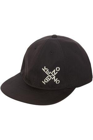 Kenzo Gorra De Lona Techno Con Logo