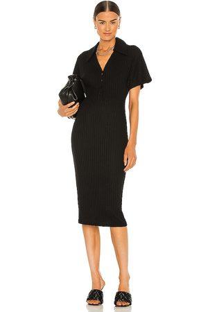 Lovers + Friends Mujer Midi - Vestido midi candace en color talla L en - Black. Talla L (también en XXS, XS, S, M, XL).